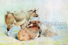 Cattle Resting (2 of 2) - William Huggins
