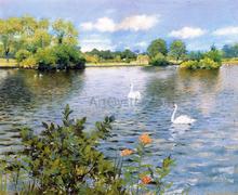 A Long Island Lake - William Merritt Chase