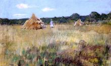 Grain Field, Shinnecock Hills - William Merritt Chase