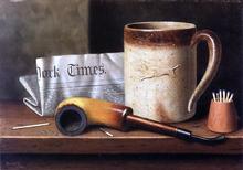 His Mug and His Pipe