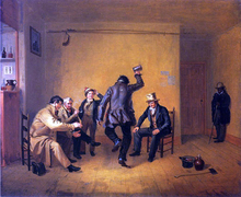 The Breakdown (also known as Bar-room Scene) - William Sidney Mount