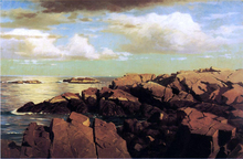After a Shower, Nahant, Massachusetts