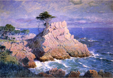 Midway Point, California (also known as Cypress Point, near Monterey)