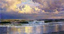 Beach at Atlantic City - William Trost Richards