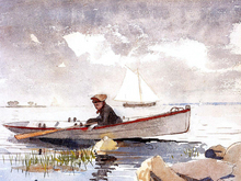 A Girl in a Punt