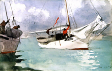 A Fishing Boat, Key West