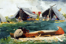 Tents Paintings