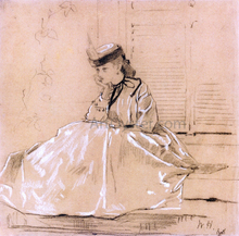 Portrait of Elizabeth Loring Grant