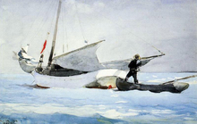Stowing the Sail