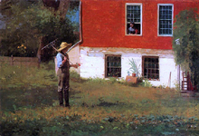 The Rustics - Winslow Homer
