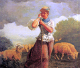 The Shepherdess (also known as The Shepherdess of Houghton Farm)