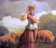 The Shepherdess (also known as The Shepherdess of Houghton Farm)