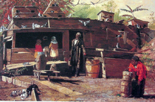 Uncle Ned at Home - Winslow Homer